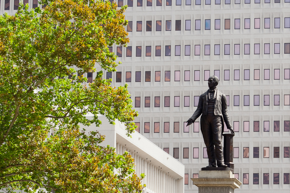 Statue of Henry Clay in Lafayette Square
