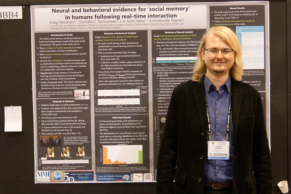 "'Neural and behavioral evidence for ""social memory"" in humans following real-time interaction' at SfN 2012"