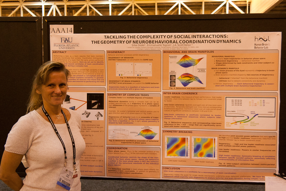 'Tackling the complexity of social interactions: The geometry of neurobehavioral coordination dynamics' at SfN 2012